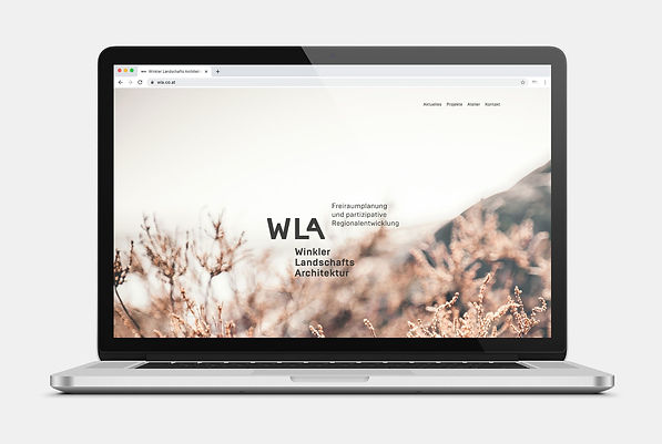 Winkler Landschaftsarchitektur Webdesign