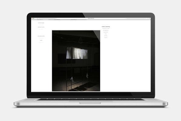 Nathalie Koger Webseite Design