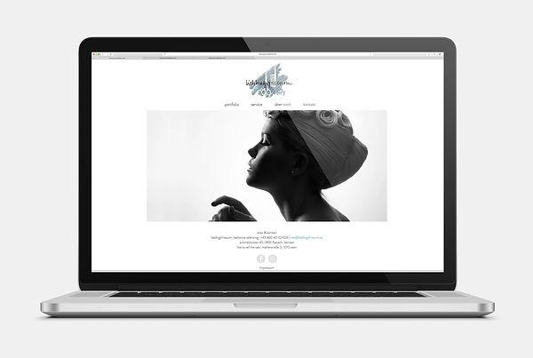 Lieblingsfriseurin Flattach Kärnten Webseite Design