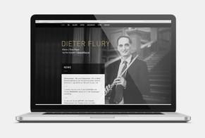 Dieter Flury / Webseite