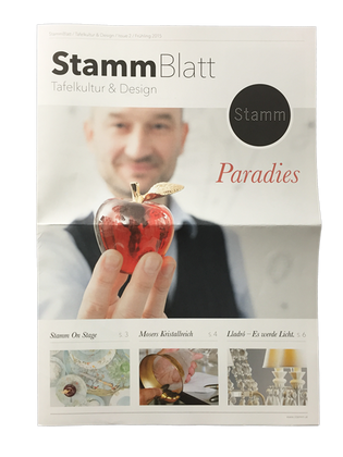 StammBlatt / Editorial Design
