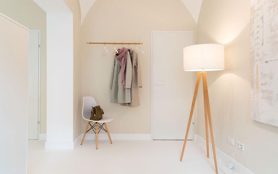 Hautarztpraxis Almuth Bene / Interior Design Gardarobe