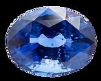 The Natural Gem Saphir Blau Sapphire blue