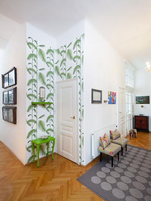 Projekt II: Vorzimmer, Eckansicht