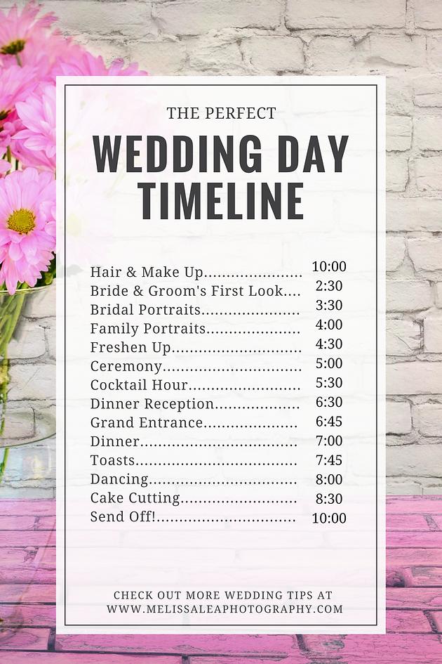 The perfect wedding timeline photographer sedona az melissa happy planning junglespirit Gallery