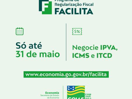 Termina na segunda-feira prazo para negociar débitos de IPVA, ITCD e ICMS