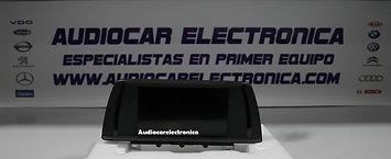 BMW NAVEGACION X1