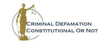 DECRIMINALIZATION OF DEFAMATION: A NEED OF THE HOUR