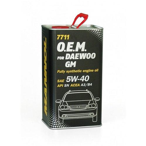 Mannol for DAEWOO GM 5W40