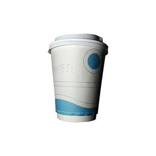 Σχεδιασμός χάρτινου ποτηριού καφέ για το Kallisti beach bar στους Νέους Πόρους Πιερίας