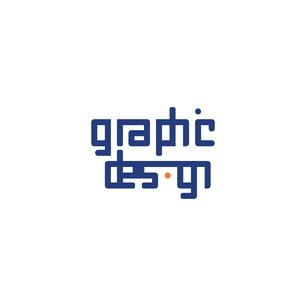 Σχεδιασμός λογοτύπου με θέμα graphic design. Το συγκεκριμένο λογότυπο ήταν η πρώτη μου εργασία στην σχολή