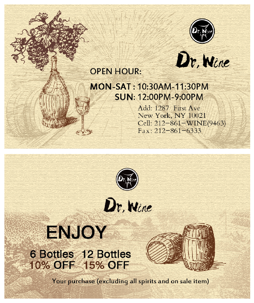 Dr Wine_Business Card