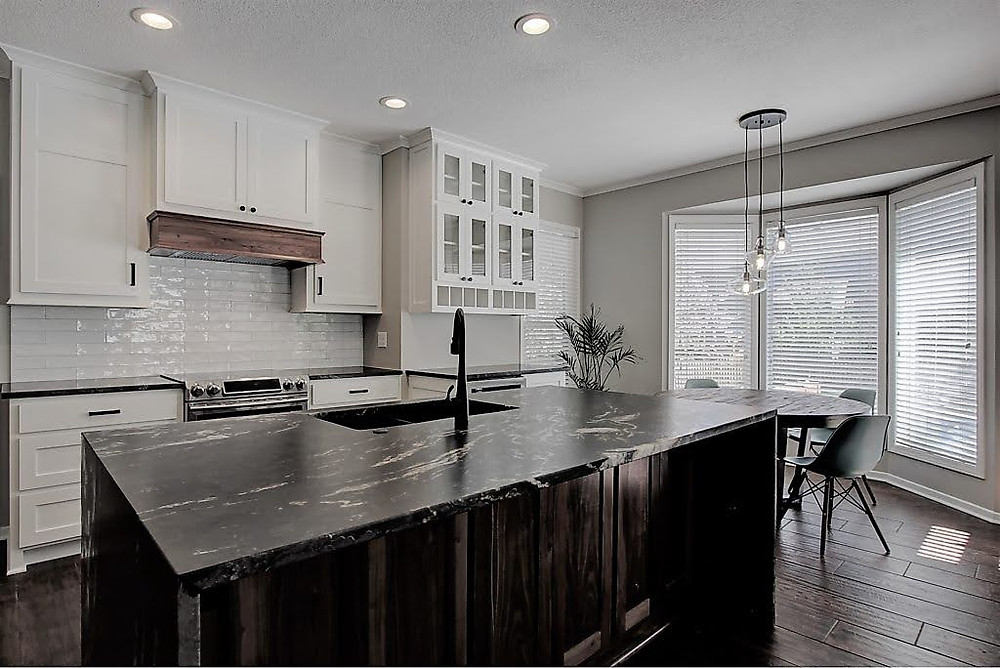 dark countertop trend kitchen remodel overland park kansas