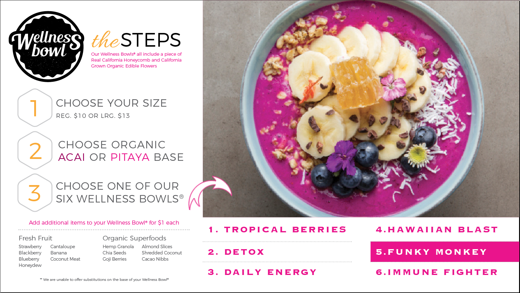 Milk and Honey Wellness Bowl