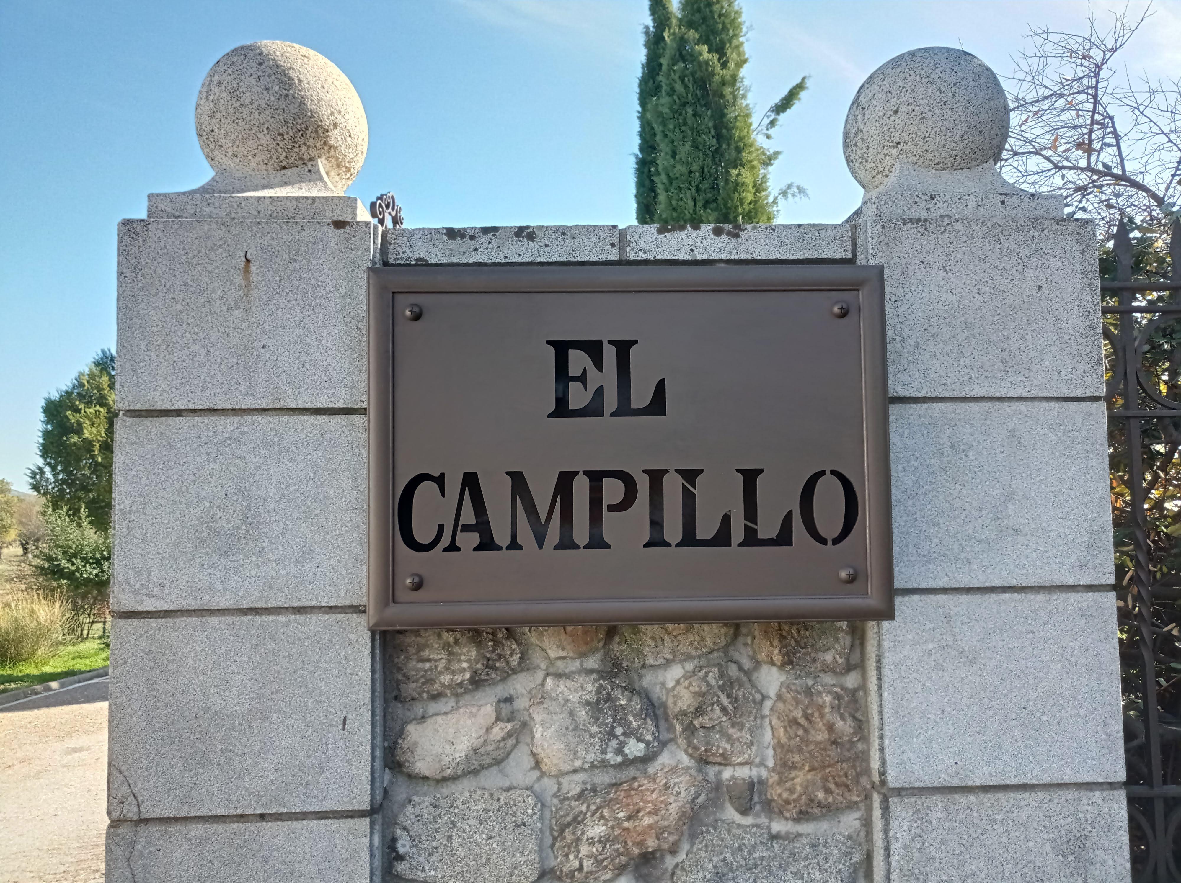 Entrada espectacular El Campillo