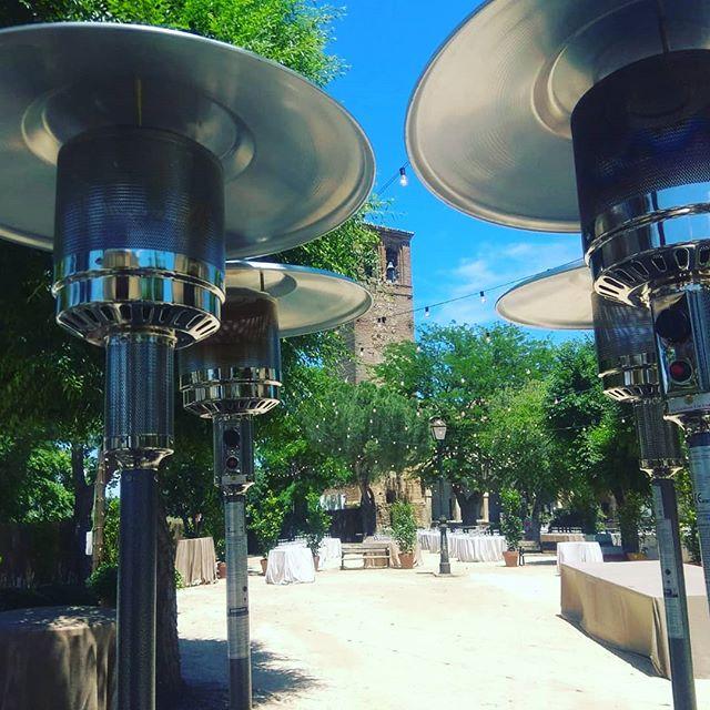 alquiler de estufas exterior Madrid