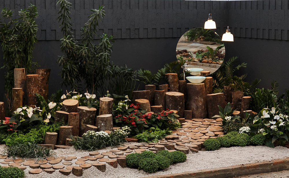 Mostra de Paisagismo, Expoflora, projeto paisagístico Daniela Vieira, Estúdio Oh