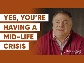 Yes, You're Having A Mid-Life Crisis