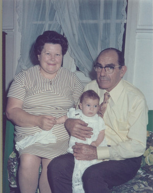 Harold and Kathleen. Maternal Grandparents. c.1970s