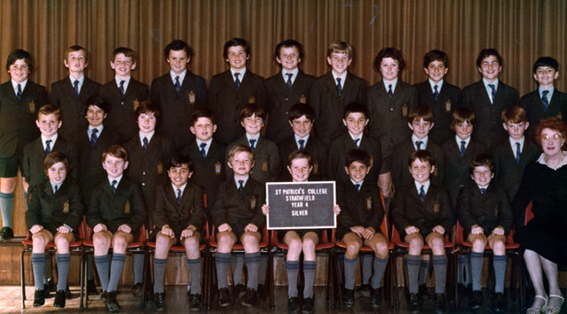 Fourth Grade (Second row, fifth from the right). c.1983