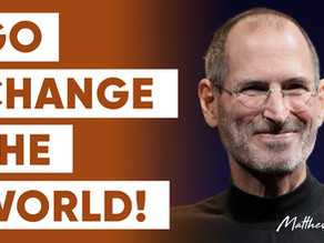 Steve Jobs Tells 14 Year Old to Go Change The World