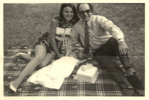 Mum, Dad, and Andrew. c.1972