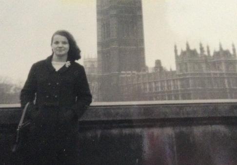 Mum in London. c.1960s
