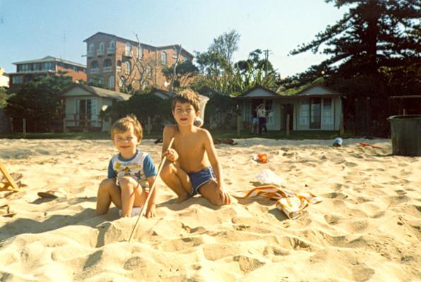 Family Vacation. Central Coast. c.1979