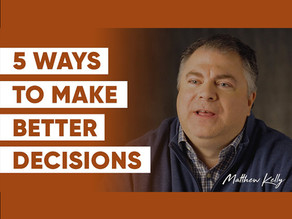 How to Become a Great Decision Maker