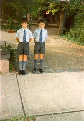 First Day of School. c.1984