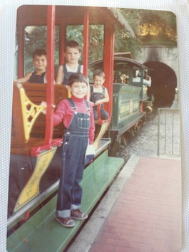Disneyland (far left) c.1980