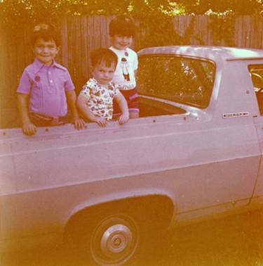The Ute (far left). c.1976