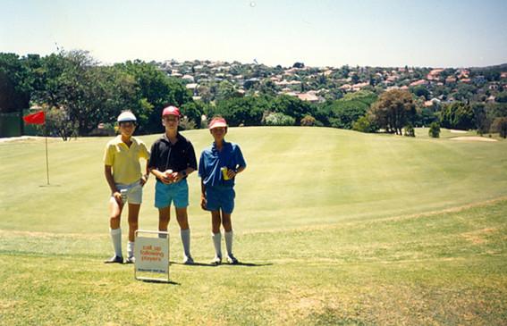 Junior Golf Tournament (left). c.1980s