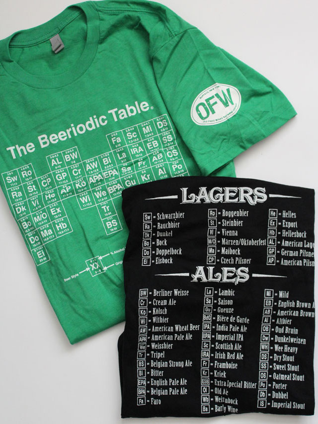Marvelous Ofw Logo Beeriodic Table Tee Mens Home Interior And Landscaping Ferensignezvosmurscom