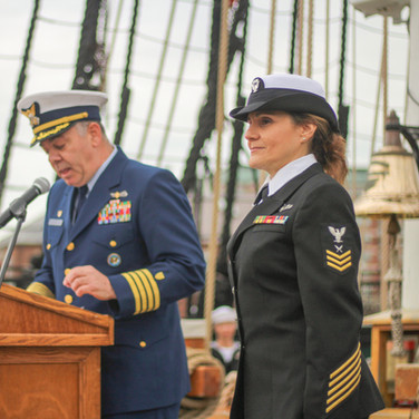 Navy Retirement Ceremony - May 2019