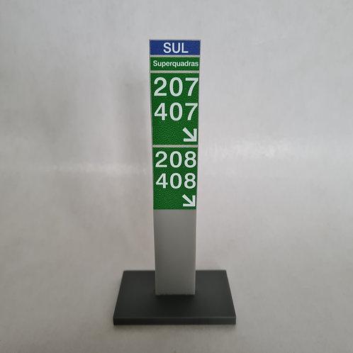 Totens P de sinalização personalizadas
