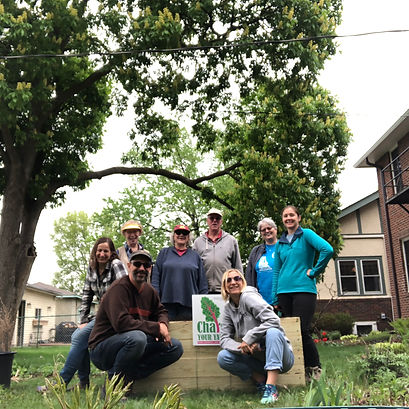 Chard Your Yard | Install Day One