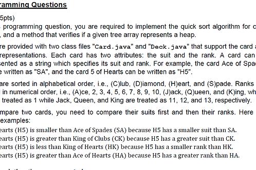 CS 304 Homework Assignment 6