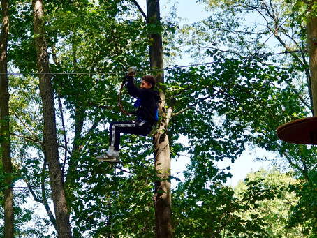 Fun Times At Tree Trekkers: Frederick's Newest Adventure Park