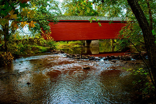 Loys Station Covered Bridge