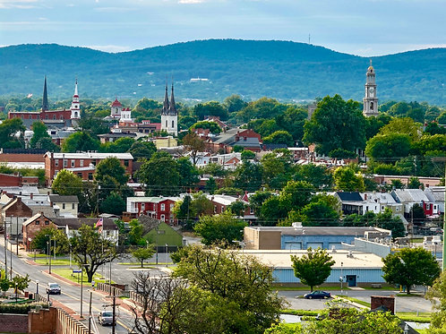 Frederick Maryland's Clustered Spires