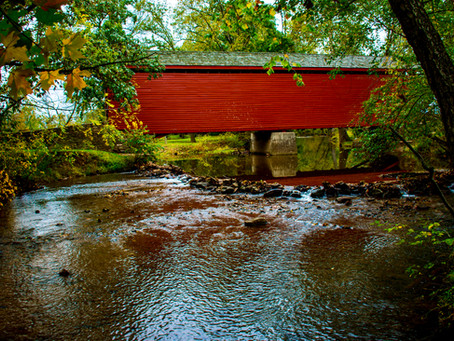 Fall In Frederick Is The Best Time Of Year For The Covered Bridges Tour