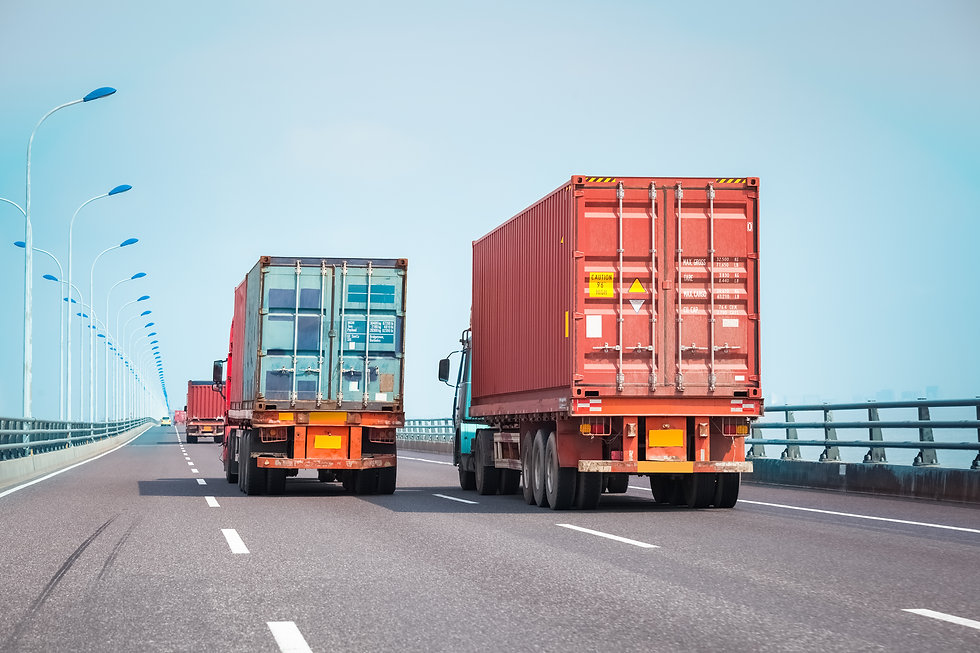 container trucks on the bridge, modern intermodal logistics background.jpg