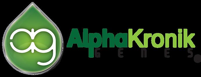 Alphakronik Genes Seeds Logo Horizontal.