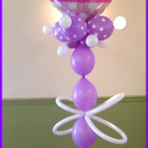 Link a loon Balloon Column
