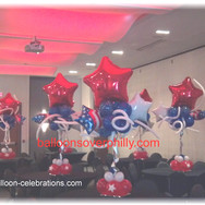Independence Day Centerpieces.