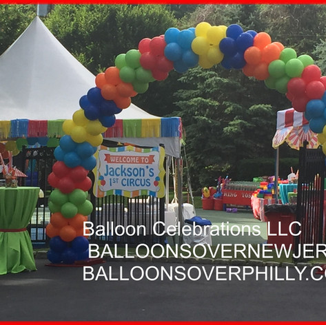 Cluster Balloon Arch