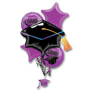 Purple-Graduation-Balloon-Bouquet. #3