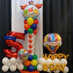 Organic Balloon Bouquets