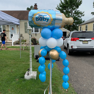 Party pole--baby shower